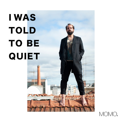http://www.abuzzsupreme.it/wp-content/uploads/2019/12/MOMO-I-Was-Told-to-be-Quiet-cover.jpg